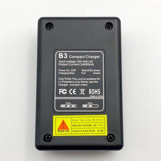 E9393 Зарядное устройство B3 PRO Compact для Li-pol (2s-3s) - Remo Hobby 1/16