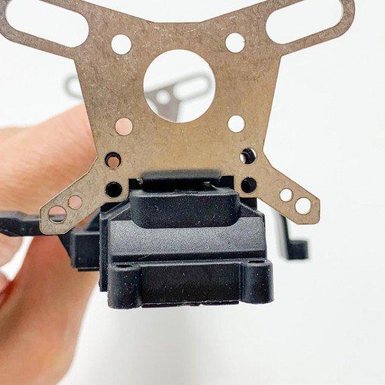 A4026-1 Металлическая рама жесткости верхней деки с защитой бабочек v2 - Remo Hobby 1/16