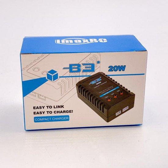 Быстрое зарядное устройство iMax B3 20W для Li-pol (2s-3s)