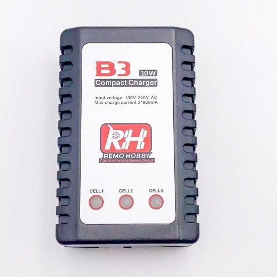 Зарядное устройство B3 PRO Compact для Li-pol (2s-3s) - Remo Hobby- E9393