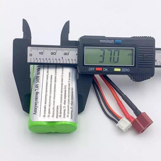 Усиленный аккумулятор 7.4V 3500mAh Li-Ion - E9315-2