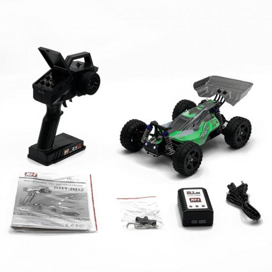 Радиоуправляемая модель Remo Hobby Dingo (1/16, 4WD, 7.4V 1500mAh) зеленый