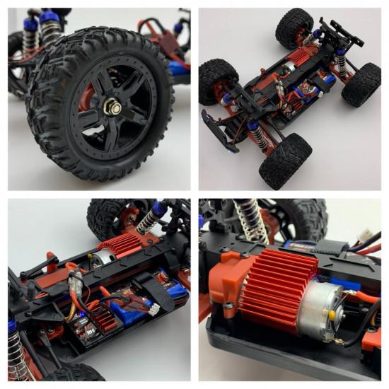 Радиоуправляемая модель Remo Hobby Smax UPGRADE (1/16, 4WD, 7.4V 1500mAh) синий