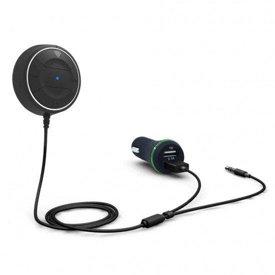 Bluetooth AUX адаптер с NFC и громкой связью