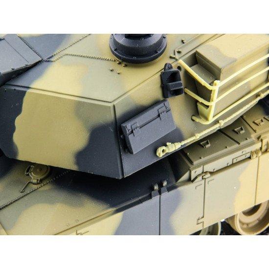 Heng Long 1/24 Танк Abrams, стреляет шариками