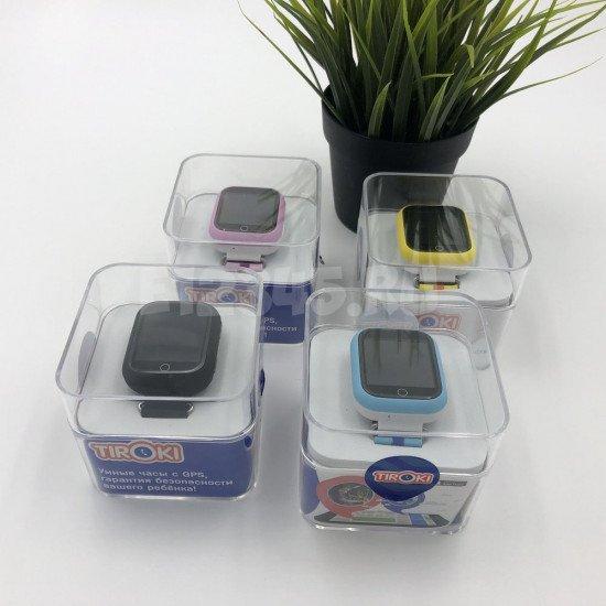 Детские часы Q100(GW200S) розовые