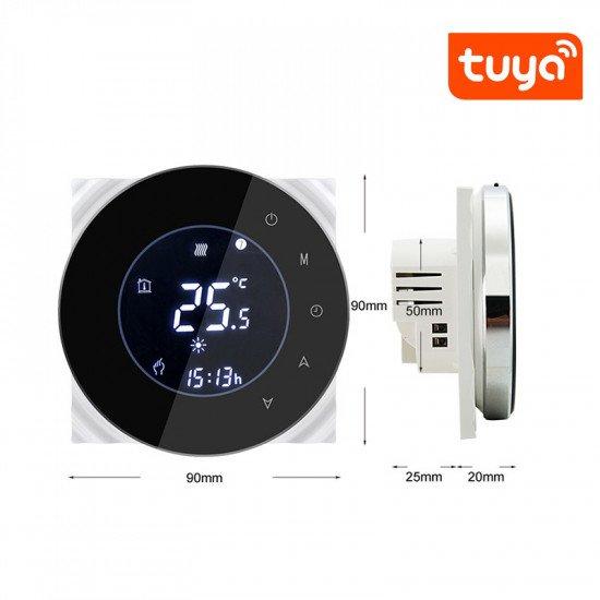 WiFi термостат для теплого пола 16А