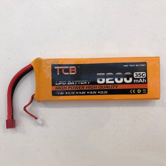 Аккумулятор 7.4V 5200mAh Li-Po